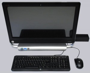 HP Touch Smart PC All in one( gebruikt)